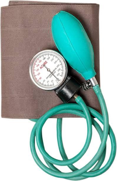 Acure Sphygmomanometer/Aneroid Bp Monitor With Free basic Stethoscope, Cuff Sphygmomanometer/Aneroid Bp Monitor With Free basic Stethoscope, Cuff Bp Monitor