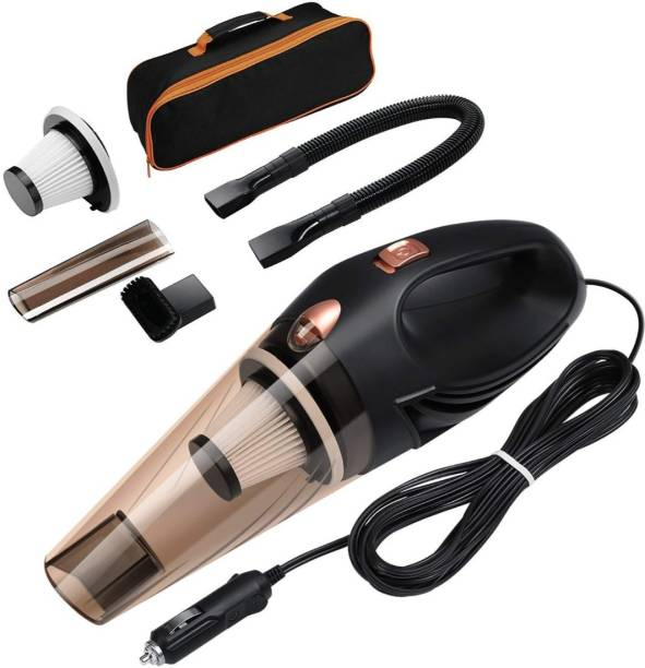 NIWRT Portable and High Power Plastic 12V Car Vacuum Cleaner 4500PA Stronger Suction for Car Vacuum Cleaner Wet and Dry with Carry Bag (Black) Portable and High Power Plastic 12V Car Vacuum Cleaner 4500PA Stronger Suction for Car Vacuum Cleaner Wet and Dry with Carry Bag (Black) Vehicle Interior Cleaner
