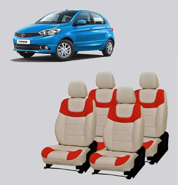 AutoSafe PU Leather Car Seat Cover For Tata Tiago