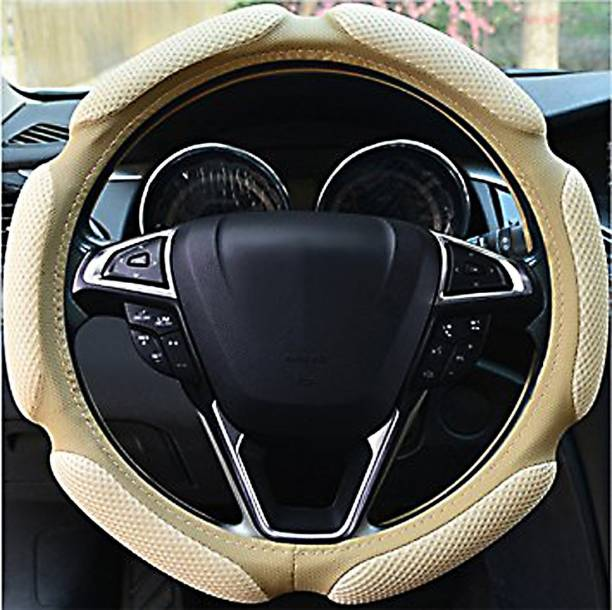 HSR Hand Stiched Steering Cover For Universal For Car Universal For Car