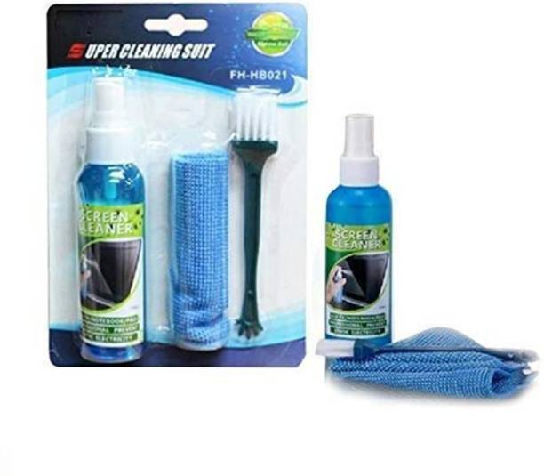 Sadow 3 in 1 Screen Cleaning Kit (Screen Cleaner,Cloth and Brush) for Laptops