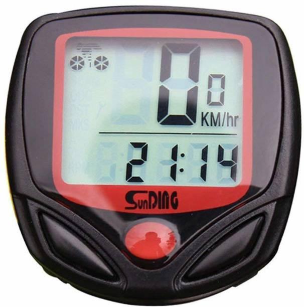 PULSE 15 Function Waterproof Bicycle Computer Odometer Speedometer Wired Cyclocomputer Wired Cyclocomputer