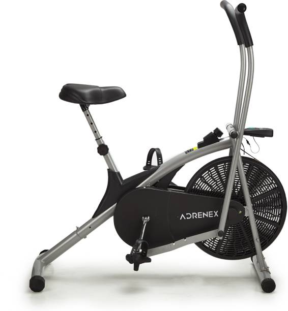 Adrenex by Flipkart AIRBIKE100 Exercise Bicycle with Moving Handles Dual-Action Stationary Exercise Bike