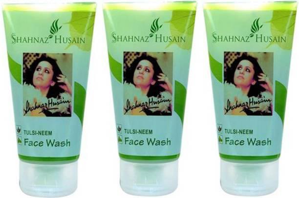 Shahnaz Husain Tulsi- 50 Gm ( Pack of 3 ) Face Wash