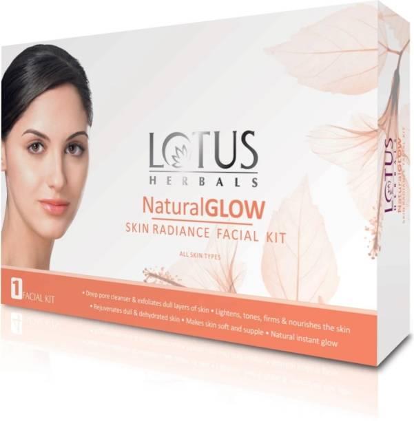LOTUS HERBALS Natural Glow Kit Skin Radiance Facial Kit 50g+50g