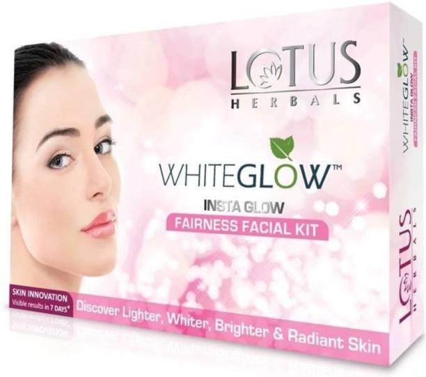 LOTUS HERBALS Witeglow Instaglow Fairness Facial KIt (4x10g)