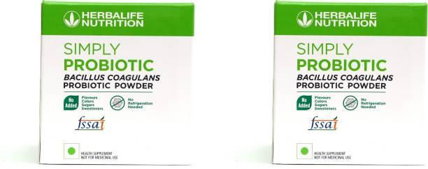 Herbalife Nutrition SIMPLY PROBIOTIC- BACCILUS COAGULANS PROBIOTIC POWDER SET OF 2 UNFLAVORED Powder