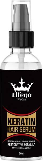 ELFENA Keratin Strength Hair Serum - with Vitamin E & Walnut Oil Argan oil serum