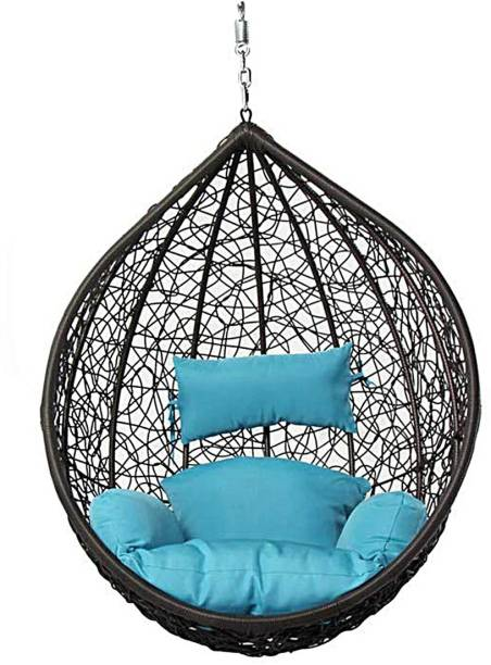 Spyder Home Decor Ceiling Large Swing Without Stand Iron, Plastic Large Swing