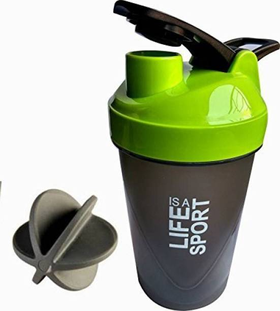 AV Brands Life Is A Sports Printed Set of 2 500 ml Sipper