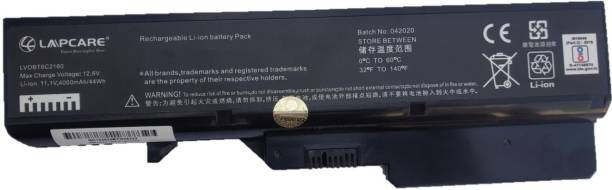 LAPCARE Compatible for G460 G465 G470 G475 G560, 6 Cell Laptop Battery