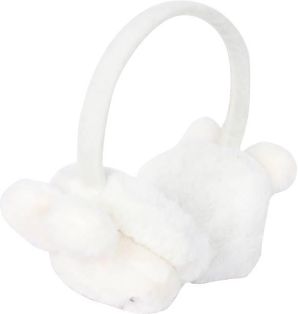 FabSeasons Winter Outdoor Wear Ear Muffs / Warmer for Kids and Adults, Ideal Head /Hair Accessory for winters Ear Muff