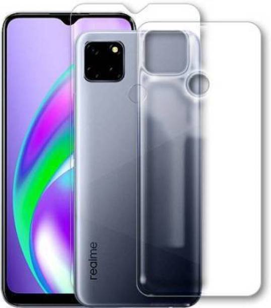 PR SMART Front and Back Tempered Glass for Realme C12