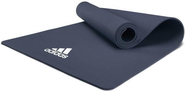 ADIDAS Yoga Mat - 8mm - Trace Blue Blue 8 mm Yoga Mat