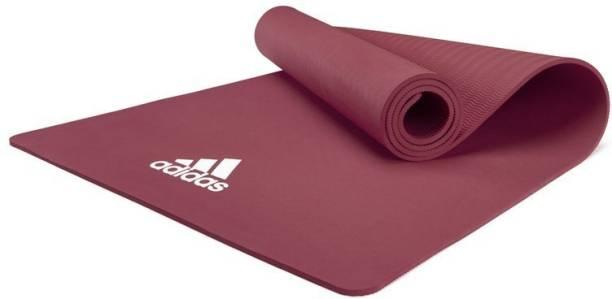 ADIDAS Yoga Mat - 8mm - Mystery Ruby Maroon 8 mm Yoga Mat