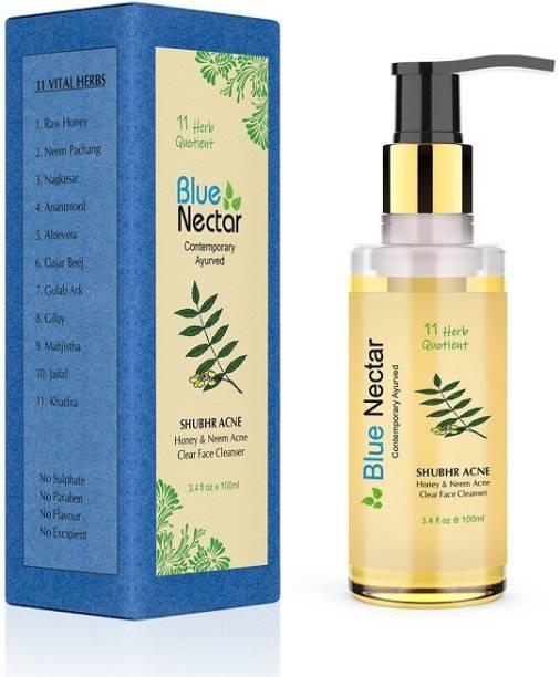 Blue Nectar Ayurvedic Acne Face Wash with Honey & Neem (Face Wash Acne_100ml)