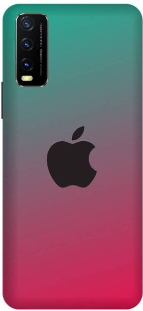 BARMANS Back Cover for Vivo Y20G Apple Logo, Apple, Iphone, Appple Phone, Iphone 11