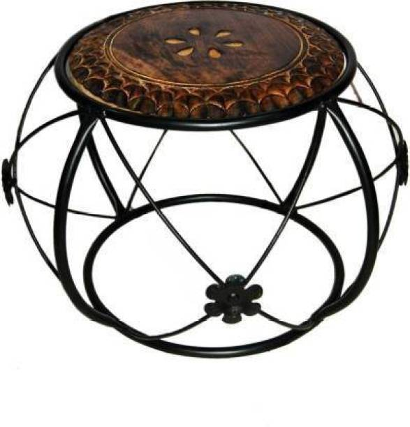 ANB Enterprises Wooden & iron stool coffee stool kinds stool For :- living room and bedroom & office Living & Bedroom Stool