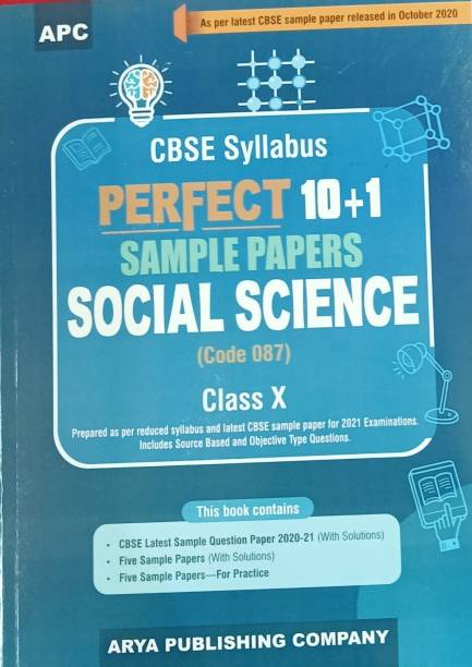PERFECT 10+1 SAMPLE PAPERS SOCIAL SCIENCE CLASS-X (CODE 087)