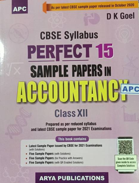 PERFECT 15 SAMPLE PAPERS IN ACCOUNTANCY CLASS-XII