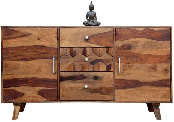 o my furniture Solid Wood Free Standing Sideboard