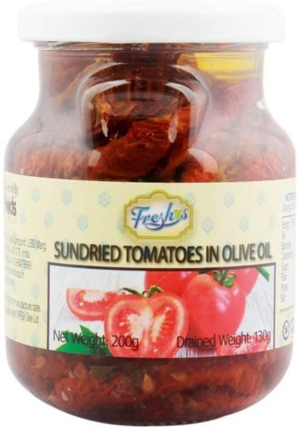 Freshos Sundried Tomatoes in Olive Oil, 200 g Vegetables