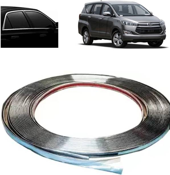 Rhtdm 15mm Chrome Strip 10m Long Set Of 1 For Innova Crysta_CB193 Car Beading Roll For Bumper, Grill and Garnish Cover, Window