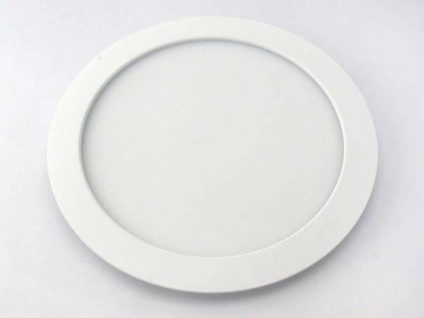 TCL LED ULTRA SLIM FLAT PANEL LIGHT - 20W - ROUND - 4000K (NATURAL WHITE)- HEAT RESISTANT ALUMINIUM WHITE BODY- RECESSED/SURFACE/SUSPENDED INSTALLABLE Recessed Ceiling Lamp
