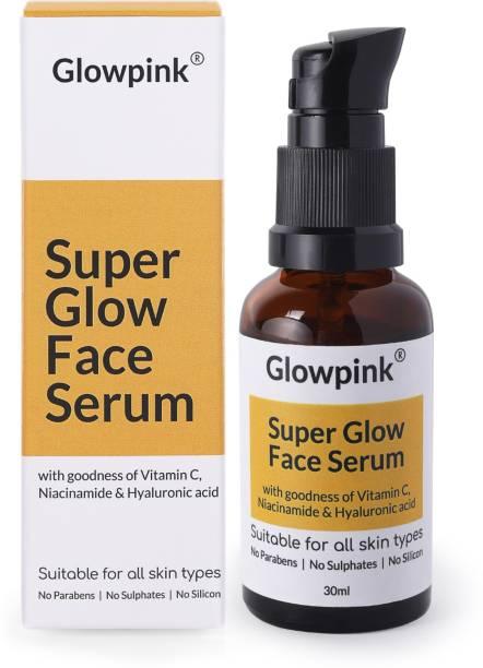 Glowpink Super Glow Face Serum with Vitamin C, Niacinamide & Hyaluronic Acid