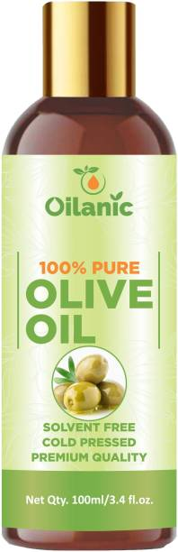 Oilanic 100% Pure & Natural Olive Oil( 100 ml) Hair Oil