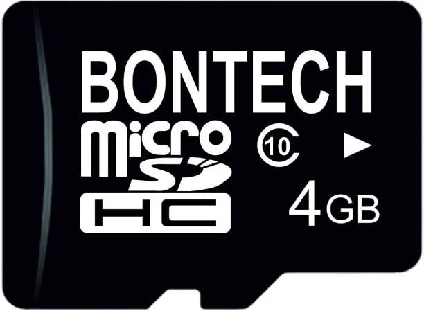 BONTECH 10X 4 GB MicroSD Card Class 10 100 MB/s  Memory Card