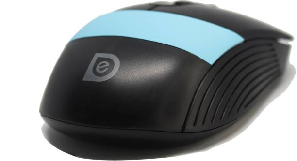DARK EDGE High Resolution Rechargeable Wireless Mouse 1600 dpi Comfort Induced Design with (Mousepad of Random Design) Wireless Optical Mouse