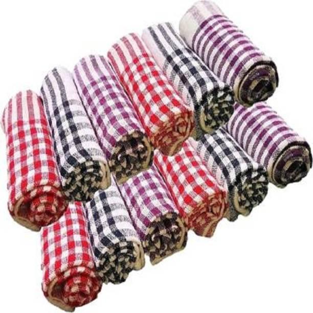 Modi Household CLOTH-KTCHN-TWL-SET 12 Multicolor Napkins
