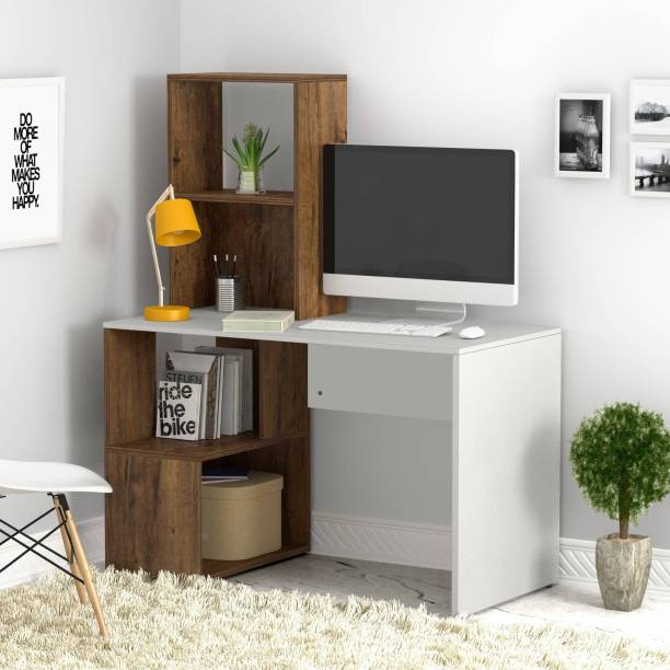 Flipkart Perfect Homes Studio Noel Dual Tone Engineered Wood Study Table