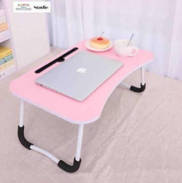 Flipkart Perfect Homes Studio Pink Wood Portable Laptop Table
