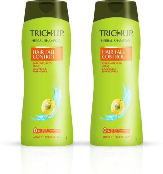 TRICHUP Herbal Hair Shampoo Hair Fall Control 400 ml (Pack Of 2)