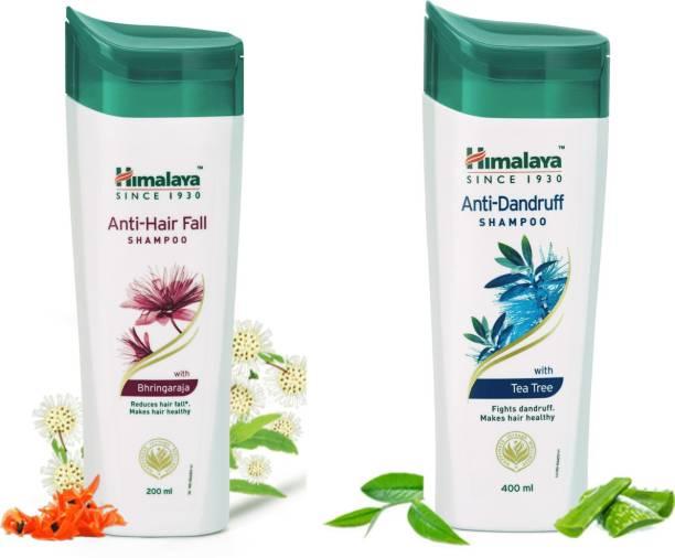 HIMALAYA Anti Dandruff 400ML & anti hair fall 200 ml