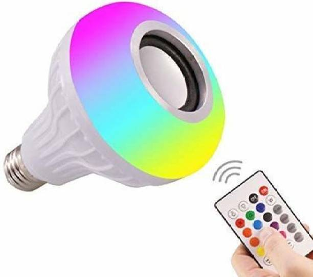 IMMUTABLE 66 _ RT- Light Music playing Blub with beautoful speaker ( Remote while RGB lighting ) 20 W Bluetooth Speaker