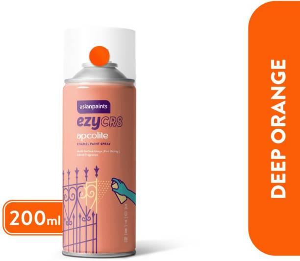 ASIAN PAINTS Deep Orange Spray Paint 200 ml