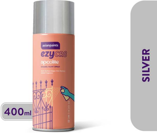 ASIAN PAINTS Silver Spray Paint 400 ml