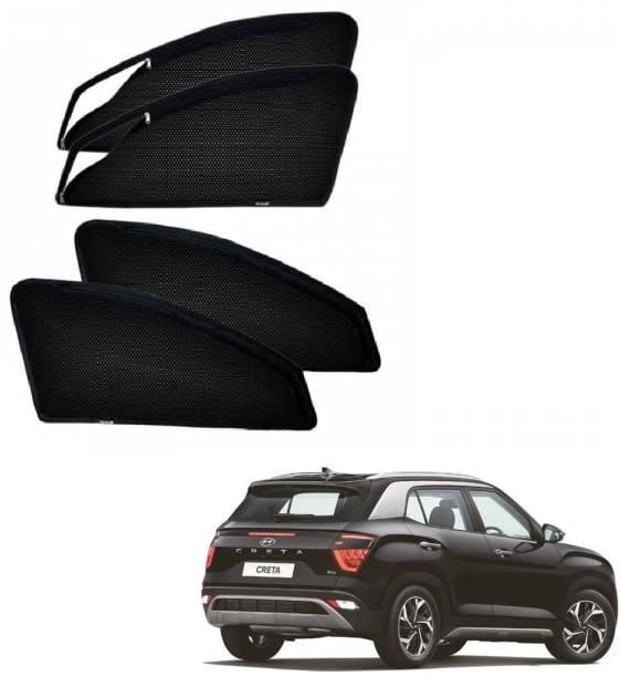 AuTO ADDiCT Side Window Sun Shade For Hyundai Creta