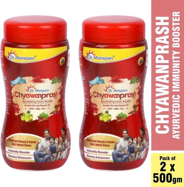 Dr. Morepen Chyawanprash 500 gm 22 Trusted Ayurvedic Herbs