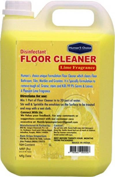 Humans choice Floor Cleaner 5 L Lime fragrance Lime