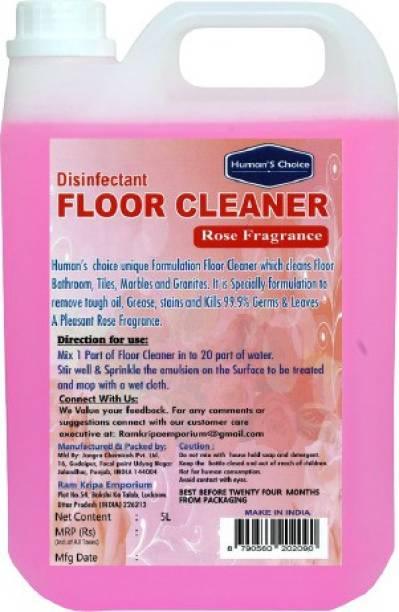 Humans choice Rose Floor Cleaner 5 L Rose (5 L) Rose