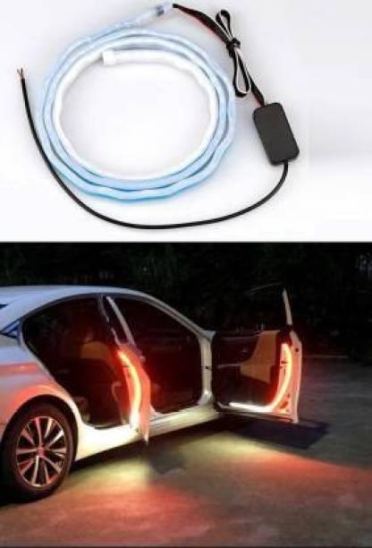 CARZEX Car Door Warning Premium Light 144 LED Interior Door Saftey(IP 68 Waterproof Rating) Moving Led Car Fancy Lights