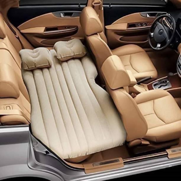 SHOPPOFOBIX CAR BED CREEM 01 Car Inflatable Bed