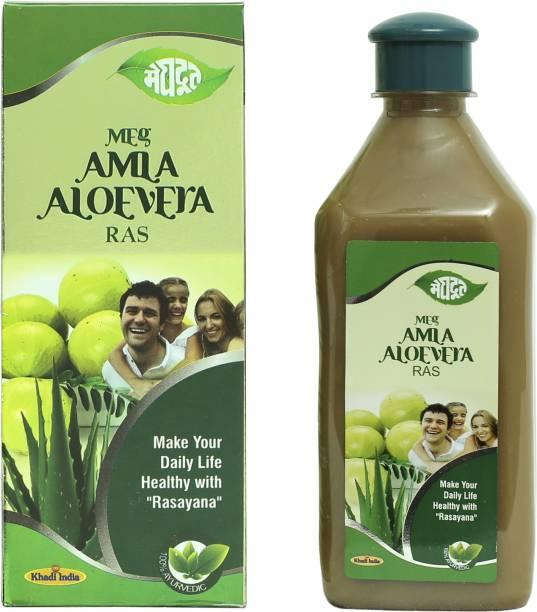 MEGHDOOT Meg Amla Aloevera Ras for Healthy Life