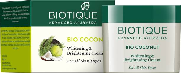 BIOTIQUE Bio Coconut Whitening & Brightening Cream