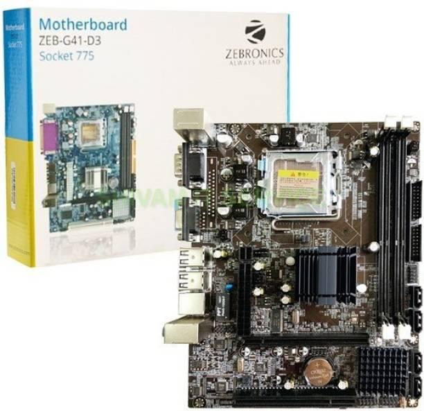 ZEBBRONICSS G41-D3 Motherboard