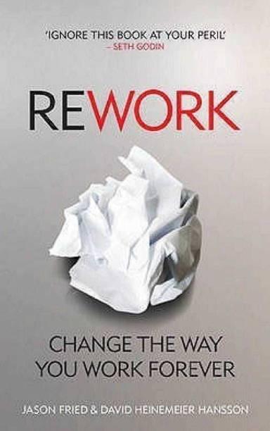 Rework English, Paperback, Heinemeier Hansson David